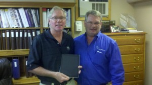 Mr. Raynsford Wins iPad 3