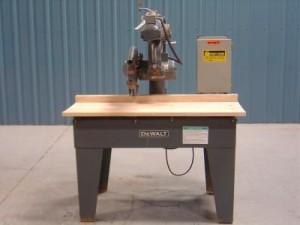"""DeWalt Model GA 14"""" Radial Arm Saw"""